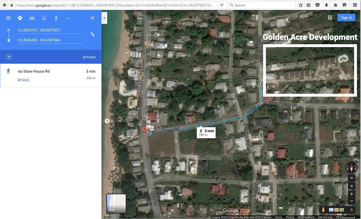 Golden Acre Barbados 3 Bedroom Villa By Alleynes Beach